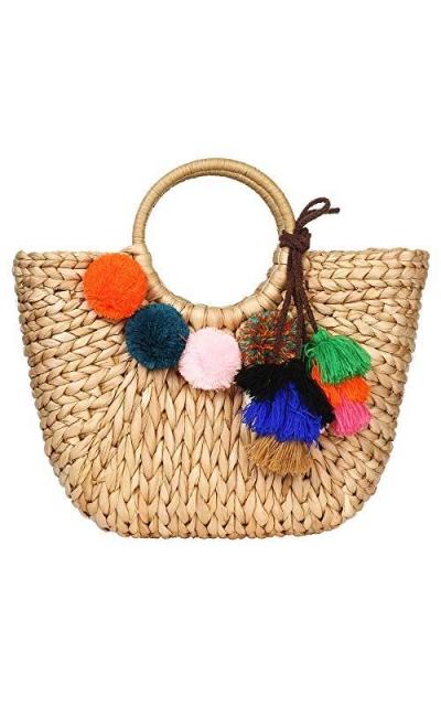 Summer Rattan Bag
