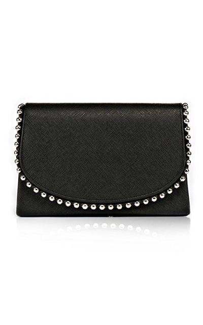 Pearl Bead Evening Clutch Bag