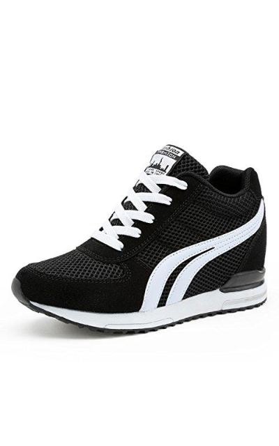 TQGOLD Hidden Wedge Sneakers