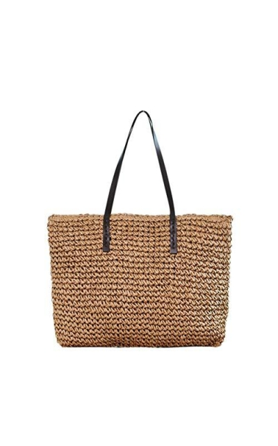 Ayliss Straw Woven Tote