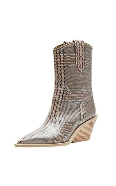 Themost Cowboy Western Booties