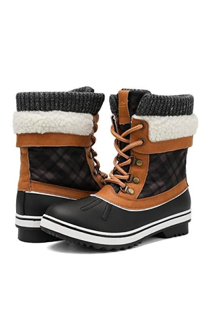 ALEADER Waterproof Winter Boots