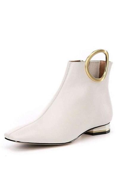 Calvin Klein Blondie Square Toe Boots