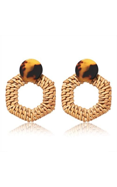 PHALIN JEWELRY Rattan Earrings