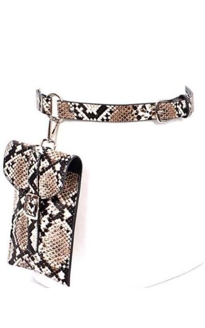 Grommet Fanny Pack Waist Belt Bag