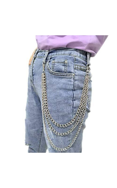Honbay  Hip Hop Punk Chain Wallet Chain