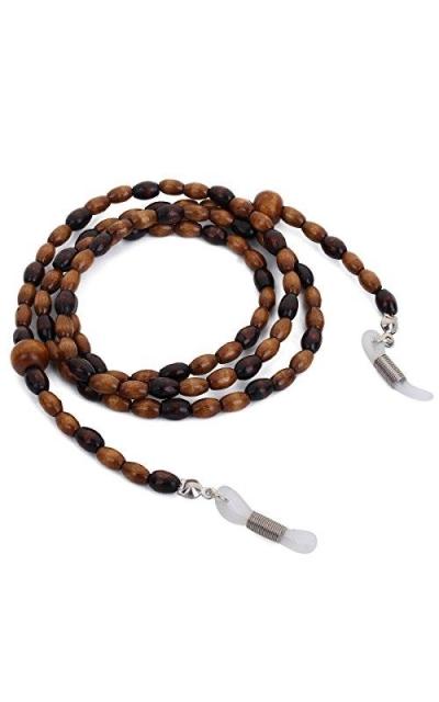 Mini Tree Wood Bead Sunglass Chain
