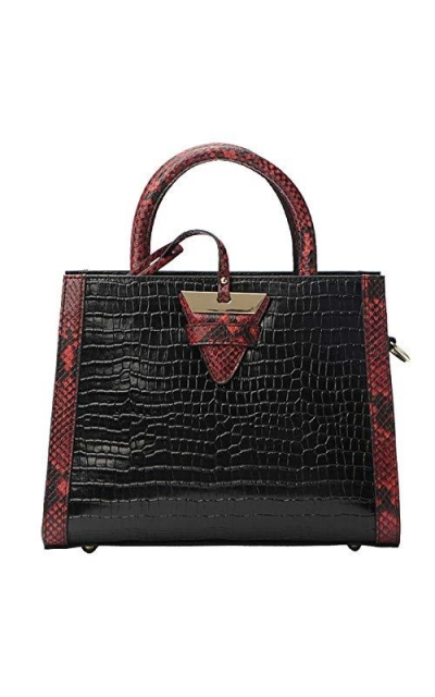 Genuine LeatherTop-handle Handbag