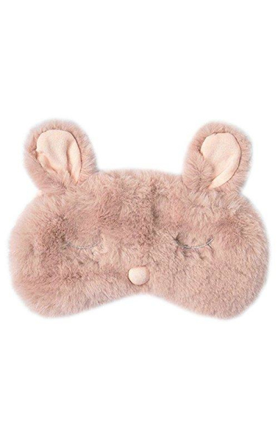 Ayygiftideas Plush Rabbit Eye Mask