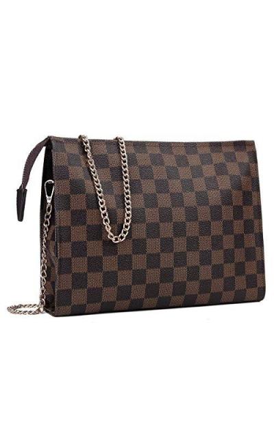 Checkered Crossbody Bag