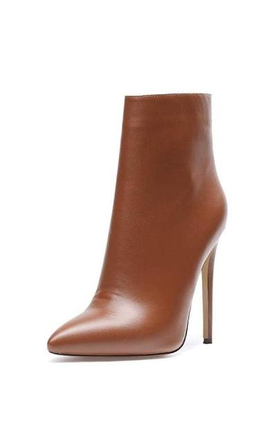 SUNETEDANCE High Heel Ankle Boots