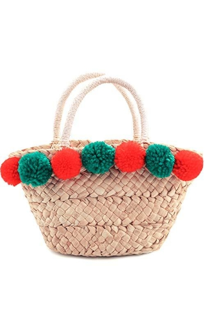 Mini Summer Beach Straw Bag