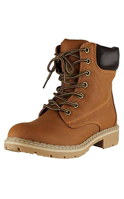 Cambridge Selec Work Combat Military Mid Calf Lug Sole Boot