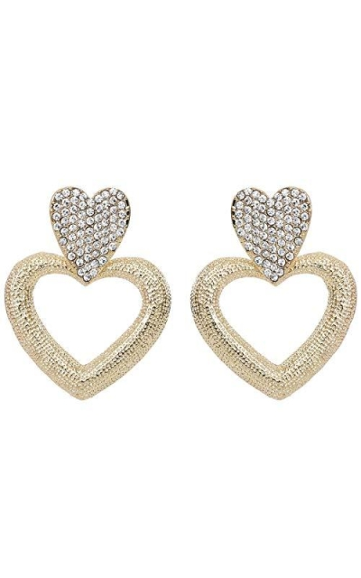 Rave Envy Dazzle Heart Earring