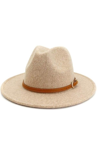 Gossifan Classic Wool Fedora Hats