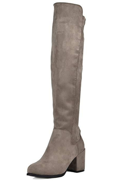 TOETOS Prade-High Over The Knee Boots