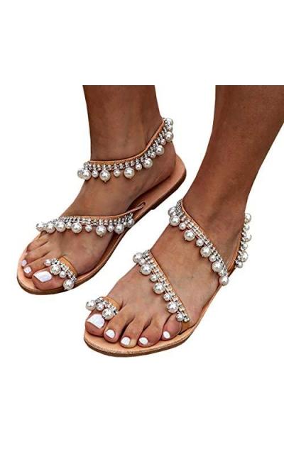 LAICIGO Pearl Sandals