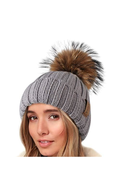 FURTALK Knit Beanie Hats