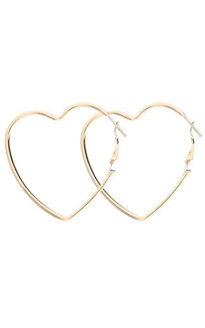 Cereza Heart Earrings