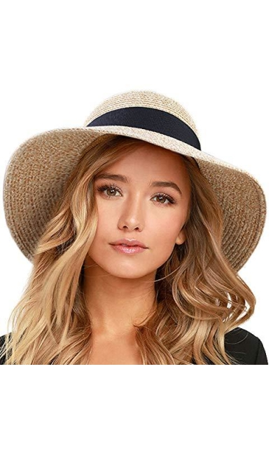 FURTALK Beach Sun Straw Hat