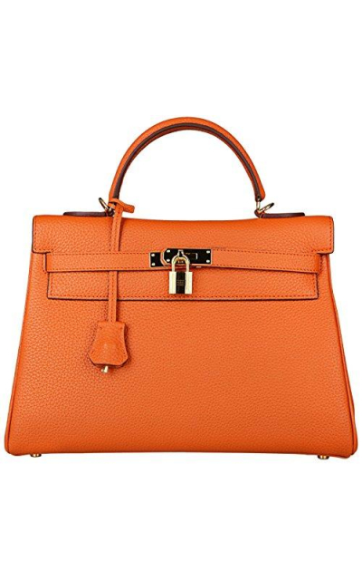 Cherish Kiss Padlock Tote Satchel