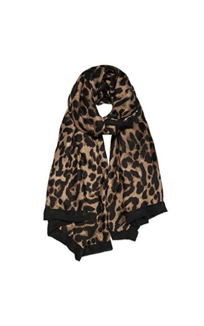 SOJOS Leopard Lightweight Scarf