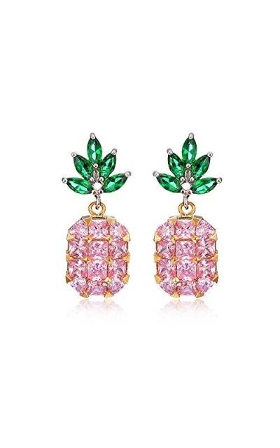93c1f1541 Tidoo Jewelry Girls Lovely Acrylic Fruit Pineapple Stud Earrings. Add to  Wishlist
