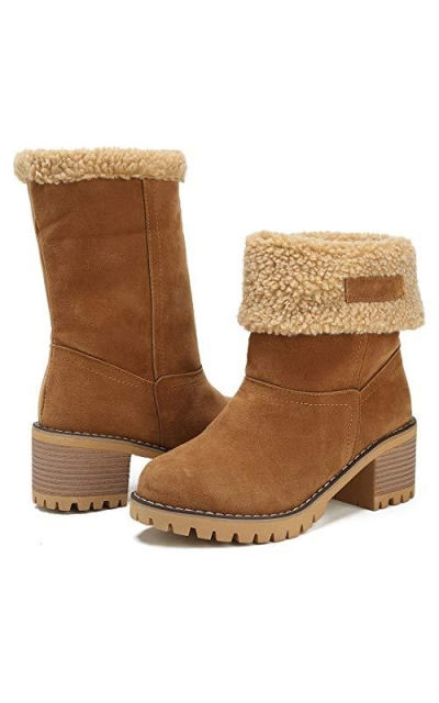 DOTACOKO Snow Ankle Booties