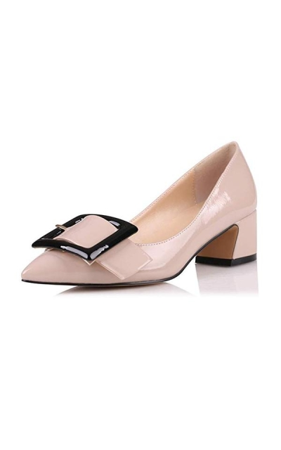 Eldof Pointed  Buckle Toe Pumps