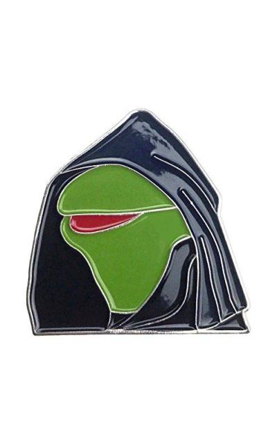 Evil Kermit Meme Enamel Pin