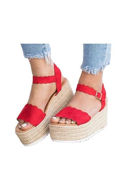Espadrilles Platform Sandals