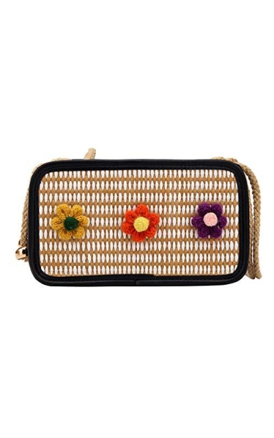 Straw Crossbody
