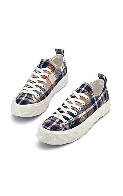 Camp Check Low Top Sneakers