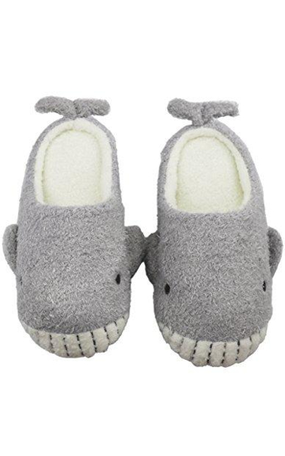 Forucreate Cute Fuzzy House slippers