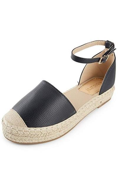 Alexis Leroy Closed Toe Espadrille Sandals