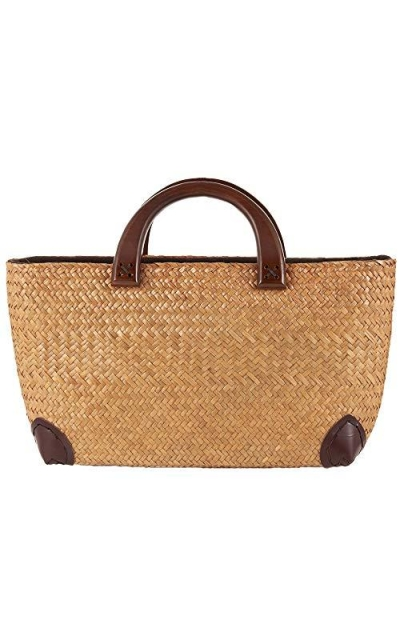 Handwoven Straw Tote