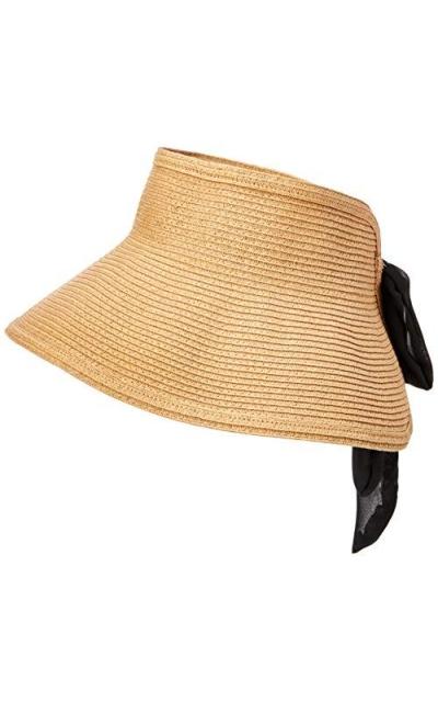 Under Zero Bowknot Foldable Sun Visor Hat