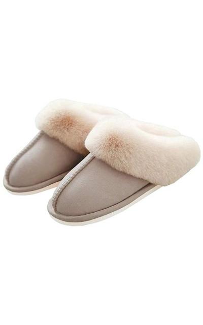 WATMAID Fur Slippers