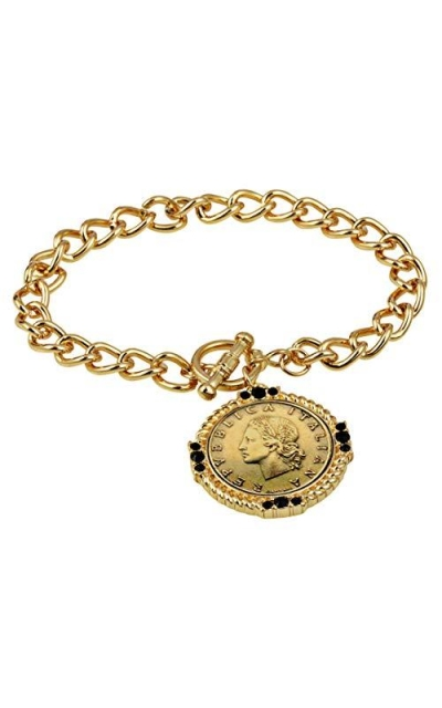 American Coin Treasures Toggle Bracelet