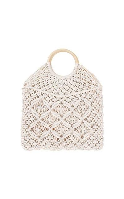 CHIC DIARY Hand-woven Straw Hobo Bag