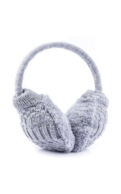 Metog Knitted Removable Warm Winter Earmuffs