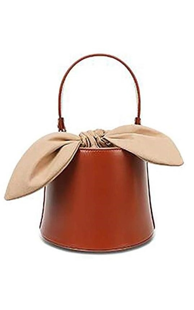 Bucket Leather Purses