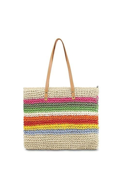 Ophlid Straw Woven Tote