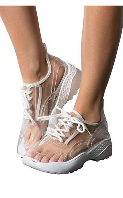 AKIRA See Through PVC Sneakers