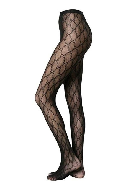 Designer Stockings (Black GG)