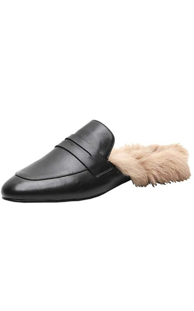 Agodor Leather Mules