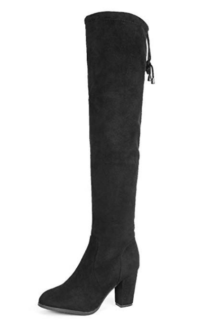 DREAM PAIRS Highleg Thigh High Fashion Over The Knee Boots