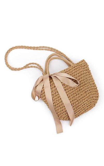Straw Braided Woven Bag
