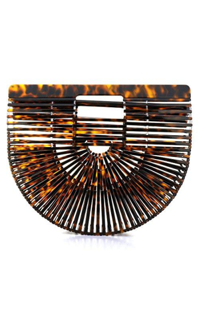 Ark Acrylic Clutch Handbag