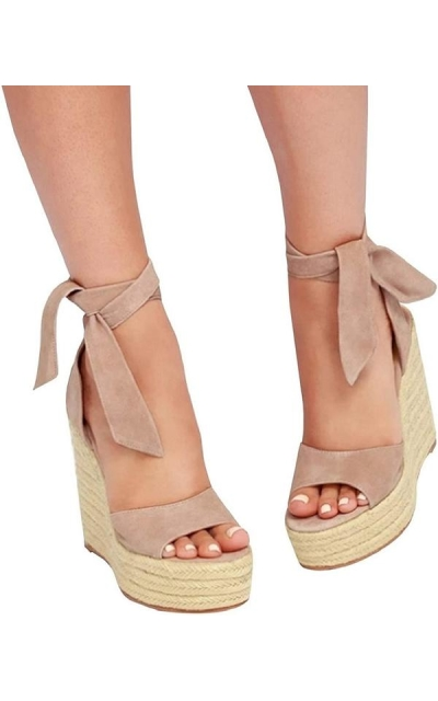 Liyuandian Platform Espadrille Wedge Sandals